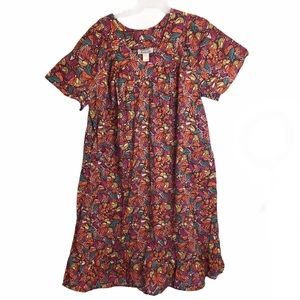 Queen Size Women/'s Cotton Flannel Nightgown Anthony Richards